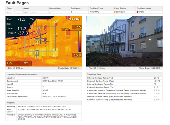 EHS Thermal Imaging Green Building