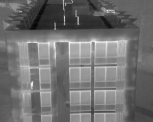 Building envelope thermal survey