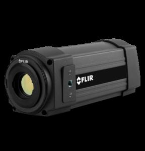 critical temperature monitoring camera